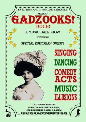 GADZOOKS! DOCH! Poster