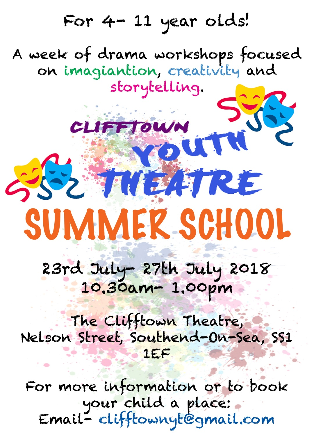 Summer CYT Promo Poster (July) 2018