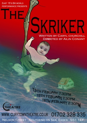 the skriker poster original